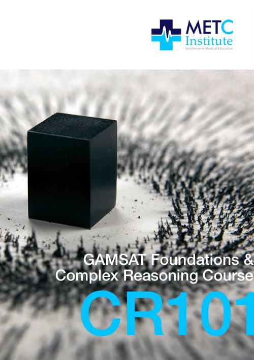 GAMSAT Foundations & Complex Reasoning Course (CR101)