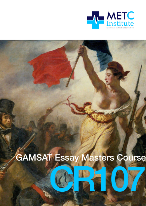 Gamsat Essay Courses  Prepare For Section Ii With The Metc Institute