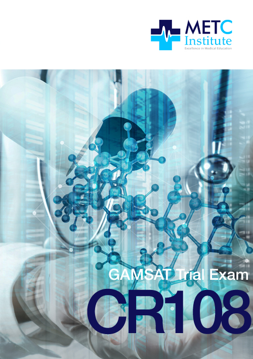 Live GAMSAT Practice Exam (CR108)